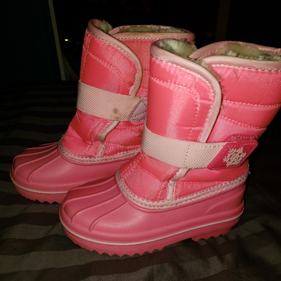 The Childrens Place Snow Boots